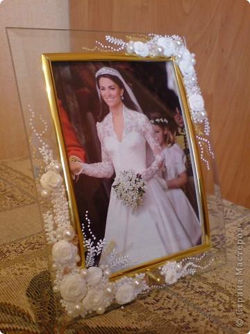 Свадебная фоторамка фото 2