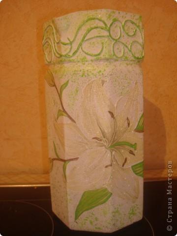 ваза из графина (вопрос к мастерицам) фото 1