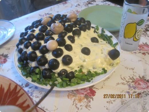 оформление салатиков! фото 4