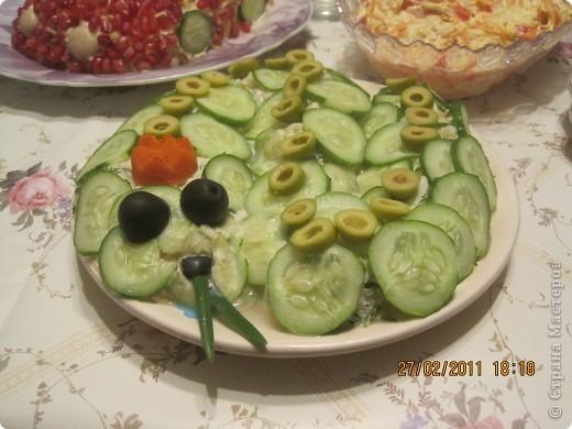 оформление салатиков! фото 5