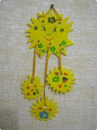 Работы моих учеников - солнышки. фото 1