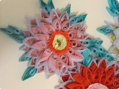 Вот такие цветы у меня получились :)) фото 2