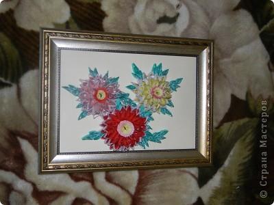 Вот такие цветы у меня получились :)) фото 6