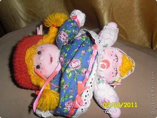 кукла-перевёртыш Анечка фото 6