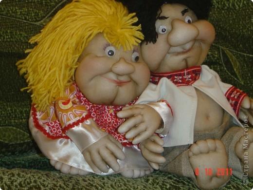 Принялась опять за своих любимых кукол-попиков. Мне понравилось, что получилось. А как Вам? фото 3