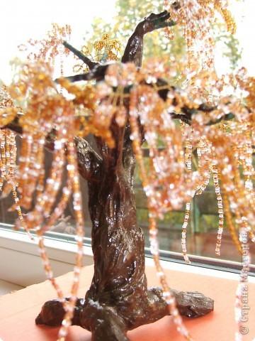 Дерево из бисера в подарок брату. Эйва или не совсем. Вообщем фентазийное. фото 3