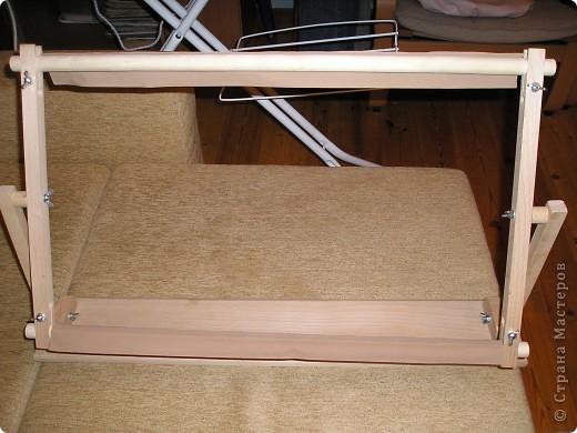 Муж подарил станок для вышивки, давно мечтала получить такой подарок. фото 1
