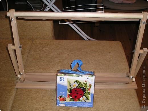 Муж подарил станок для вышивки, давно мечтала получить такой подарок. фото 2