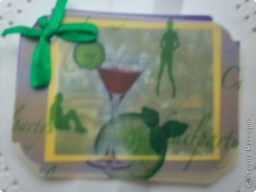 """АТС-игра Олисандры. Тема """"Влюбленный в Париж"""". Эта карточка, одна из двух, осталась у меня. фото 7"""
