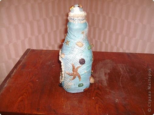 вот такая бутылочка получилась фото 4