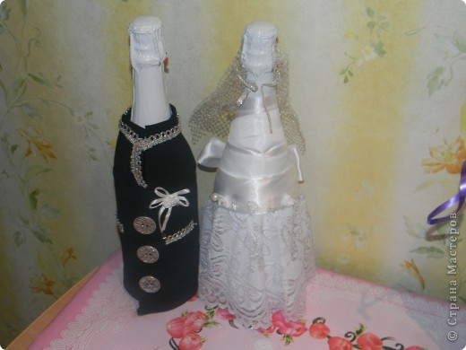 Пара. Невеста - вид сзади фото 2