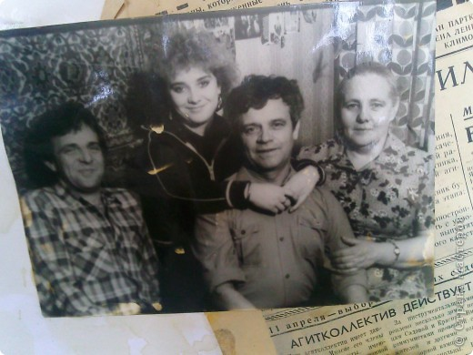 решила сделать небольшой коллаж  из старых фото моей семьи  фото 2
