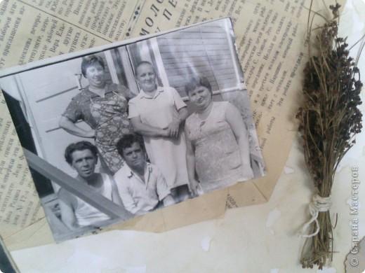 решила сделать небольшой коллаж  из старых фото моей семьи  фото 10