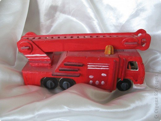Пожарная машина Mercedes фото 1