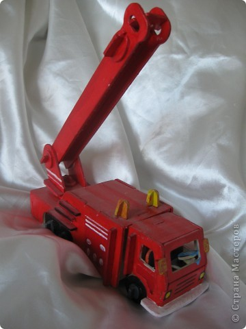 Пожарная машина Mercedes фото 2