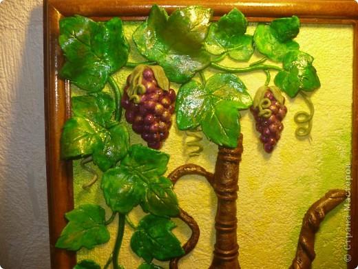 Спасибо за идею, Мэрисабэльке http://stranamasterov.ru/node/169563. Давно покоя не давал мне увиденный в её блоге кувшин с виноградом. фото 4