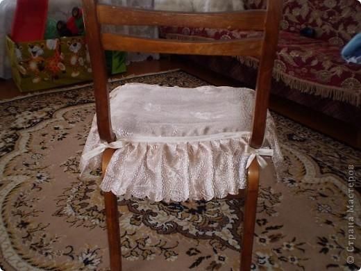Накидка на стул.Спереди фото 2