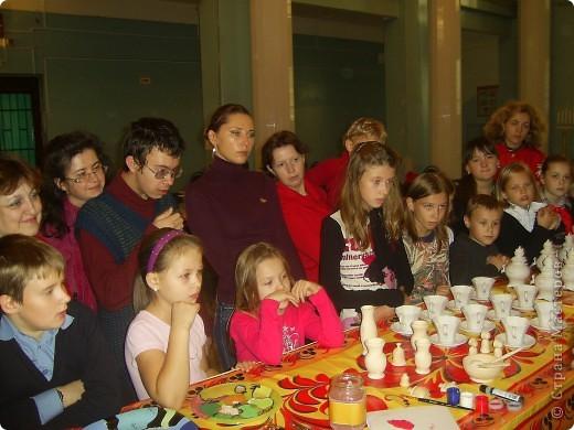 Наш дружный коллектив, принял участие в мастер-классе. фото 2