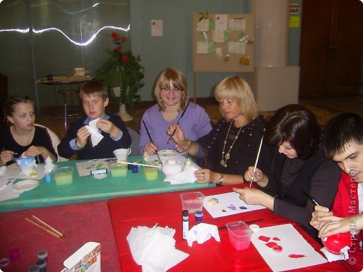 Наш дружный коллектив, принял участие в мастер-классе. фото 7