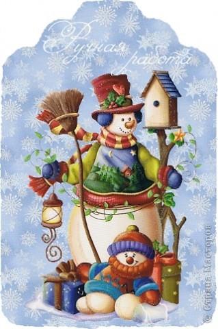 Бирочки для игрушек  Новогодние  фото 6