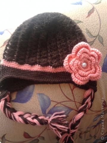 Связалась такая шапулька на осень фото 2