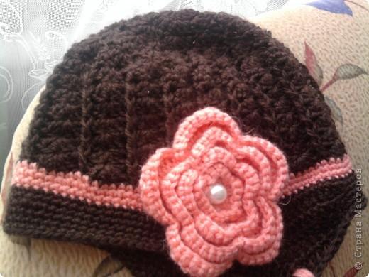 Связалась такая шапулька на осень фото 1