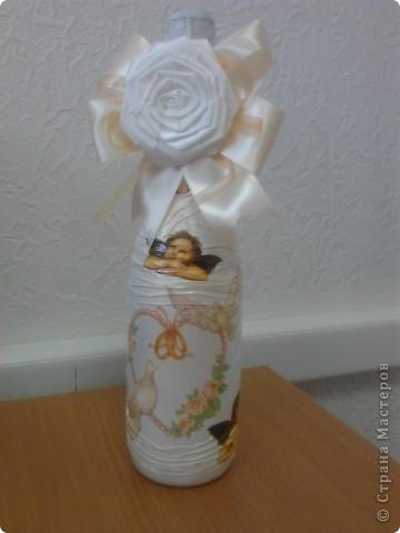 1. Бутылочка - Свадебная! фото 1