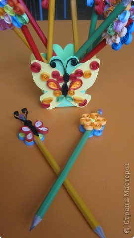 "Подставка ""Бабочка"" для карандашы фото 2"