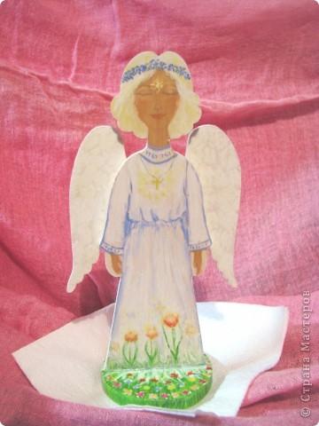 Делала Ангелочка для замечательного человека. фото 1