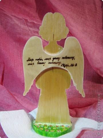 Делала Ангелочка для замечательного человека. фото 4