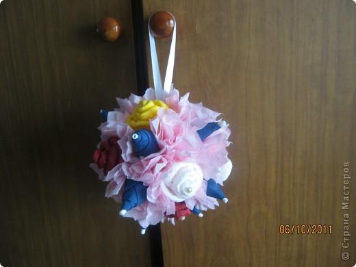 этот шарик делала сыну в подарок на день учителя