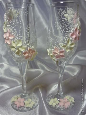 свадебные бокальчики фото 7
