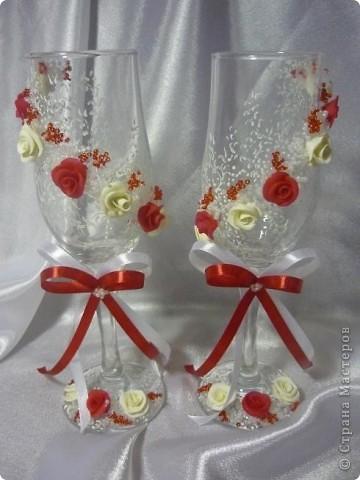 свадебные бокальчики фото 4