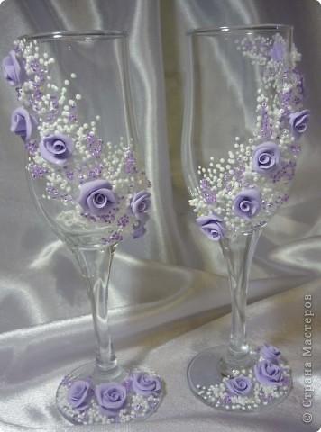 свадебные бокальчики фото 9