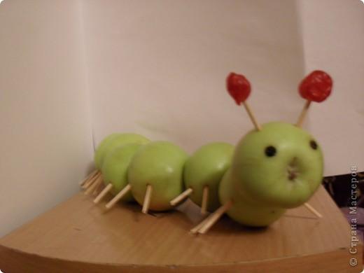 Поделки овощи-фрукты