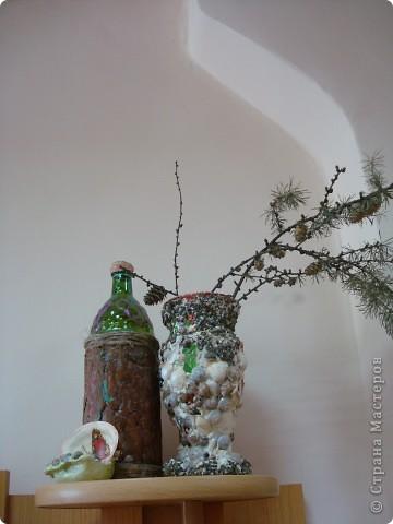 бутылочки-вазочки фото 1