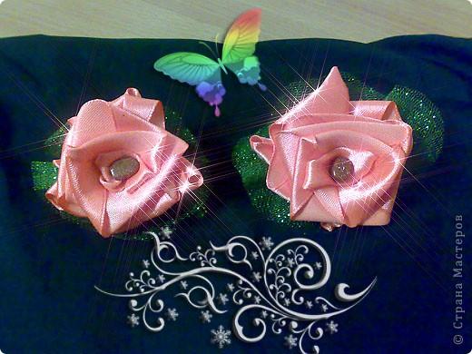 """Брошь """"Аленький цветочек"""". Моя первая работа. Изготовила на подарок. фото 7"""