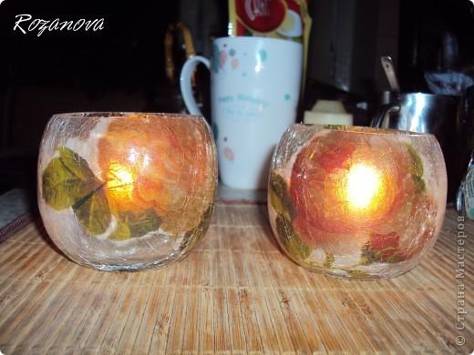 Появился кусочек свободного времени,украсила баночки из под сахара и кофе) фото 7