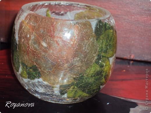 Появился кусочек свободного времени,украсила баночки из под сахара и кофе) фото 6