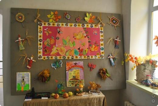 Выставка работ к празднику школы. фото 1