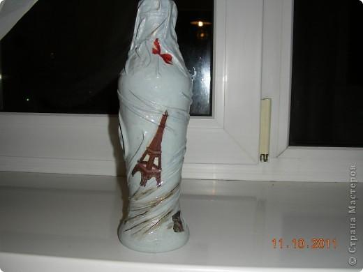 Стояла у меня бутылочка из под кетчупа, ждала своего часа. И вот как-то вечером после работы... фото 1