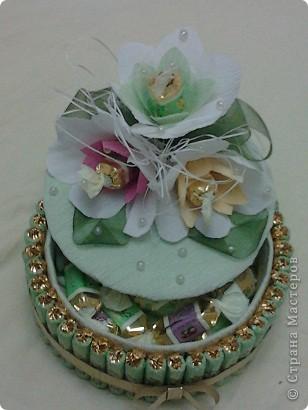 Этот тортик я сделала маме на День дошкольного работника. фото 2