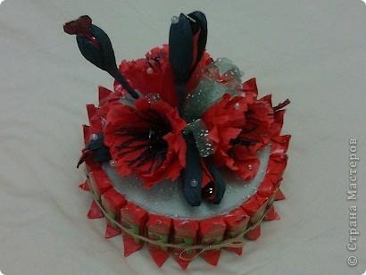 Этот тортик я сделала маме на День дошкольного работника. фото 4