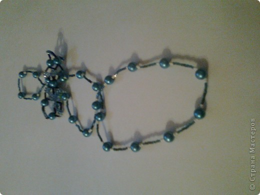 Бусы и браслет. набор №1 фото 1