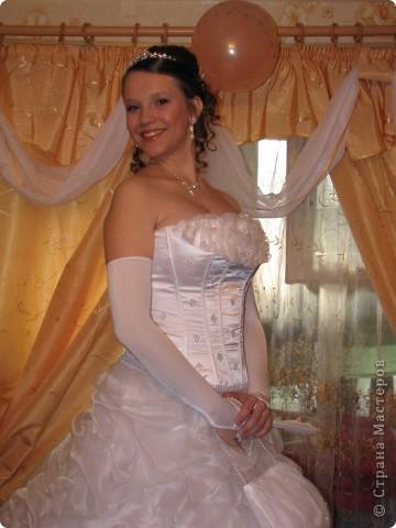 Сшито платье,сумочка,перчатки фото 2