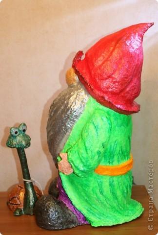 Гномик и его домашний питомец.   фото 3