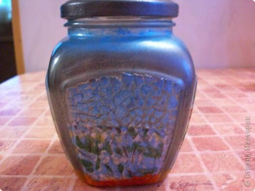 Попросили меня сделать красивую баночку, ну я и разошлась,наборчик забацала, вазу и тарелку на стену.))) фото 4