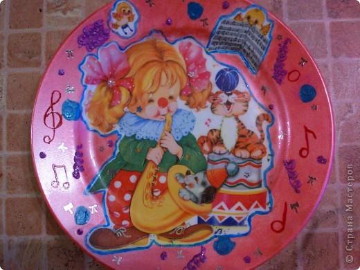 Набор тарелочек в детскую. фото 1