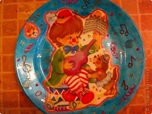 Набор тарелочек в детскую. фото 2