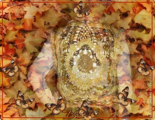 """Жилет """"Осенний листопад"""" фото 3"""